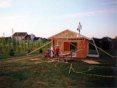 Shed In Construction